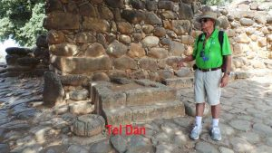 Tour guide in Israel